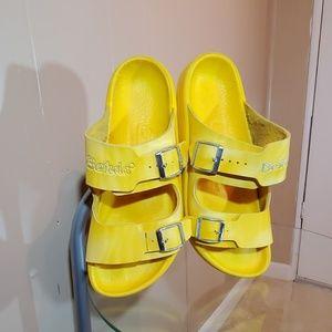 Betula Yellow Orthopedic Sandals